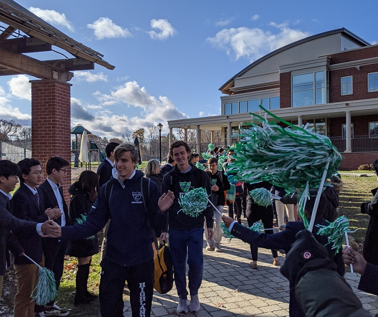 Ethan Puc and Cross Country Send Off.jpg