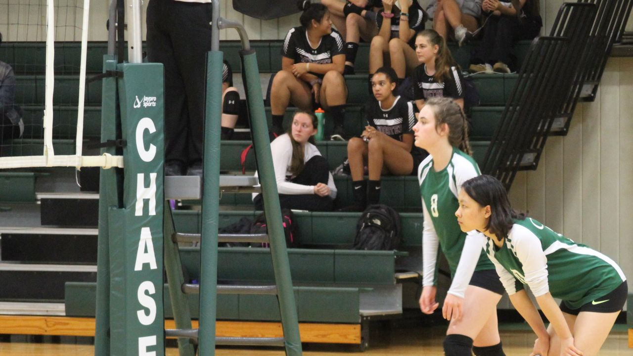 Chase ollegiate JV Volleyball Julia Francisco Shirley Lin.jpg